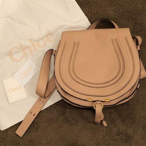 Chloe Handbags - Chloe Marcie crossbody saddle bag 7192f965a8